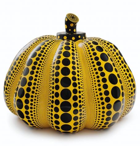 Pumpkin Sculpture by Yayoi Kusama at Hoerle-Guggenheim Contemporary