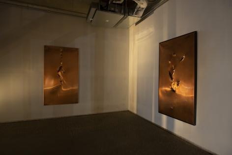 Image of Copper panels, Rebirth Franz Klainsek at Hg Contemporary Williamsburg