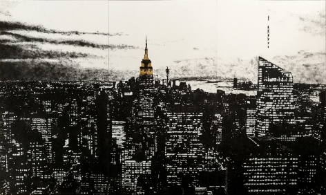 My American Dream by Tim Bengel at Hg Contemporary art gallery