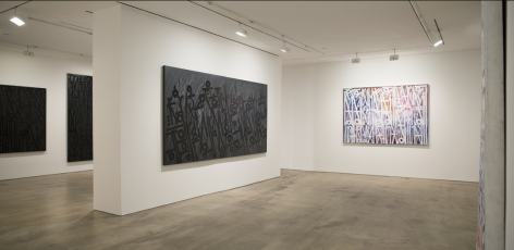 Installation View of Retna at Hg Contemporary art gallery, founded by Philippe Hoerle-Guggenheim