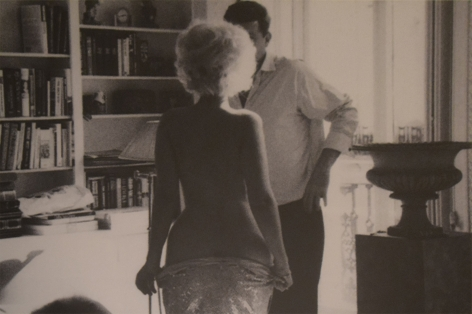 Marilyn Undressing for JFK by Alison Jackson at HG Contemporary founded by Philippe Hoerle-Guggenheim