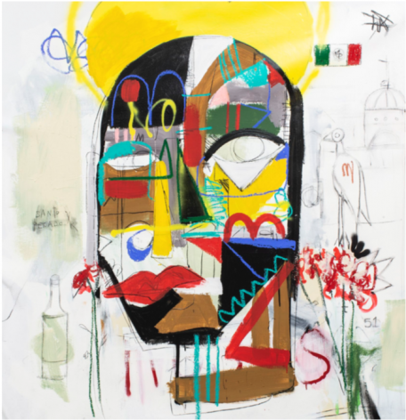 Won't be Shaken by Louis Carreon at Hg Contemporary art gallery