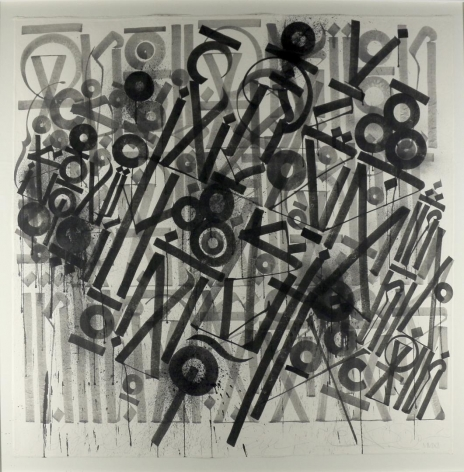 Signs of the Minds Eye by Retna at Hg Contemporary art gallery, founded by Philippe Hoerle-Guggenheim