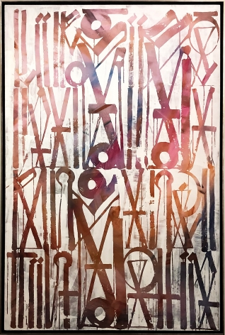 Destination Marks, 2015 by Retna at Hg Contemporary art gallery, founded by Philippe Hoerle-Guggenheim