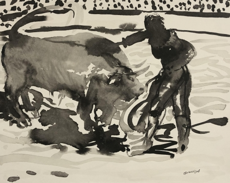 Mete y Saca by Carlos Franco at Hg Contemporary art gallery
