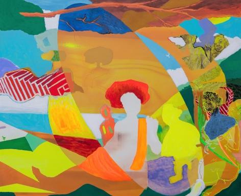 Dama en el Lago, Ariadna by Carlos Franco at Hg Contemporary art gallery