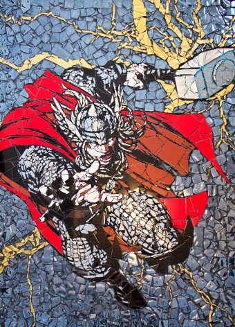 Thor by Jason Dussault at HG Contemporary founded by Philippe Hoerle-Guggenheim