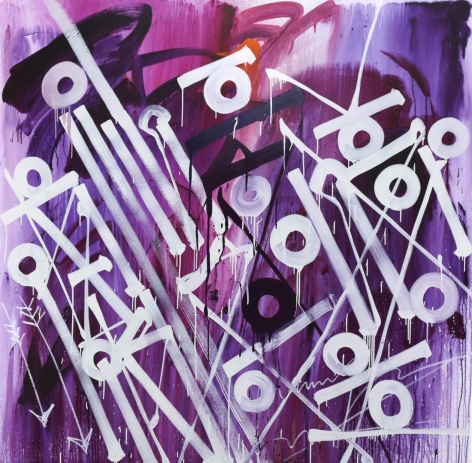 Brimstone by Retna at Hg Contemporary art gallery, founded by Philippe Hoerle-Guggenheim