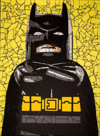 Batman by Jason Dussault at HG Contemporary founded by Philippe Hoerle-Guggenheim