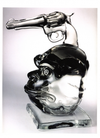 Primitivist Glass by Philip Tsiaras at HG Contemporary founded by Philippe Hoerle-Guggenheim