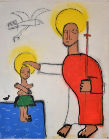 Holy Water by Louis Carreon at Hg Contemporary art gallery Madrid