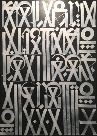 Untitled by Retna at Hg Contemporary art gallery, founded by Philippe Hoerle-Guggenheim
