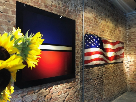 Exhibition View of Young Americans Tour at Hg Contemporary