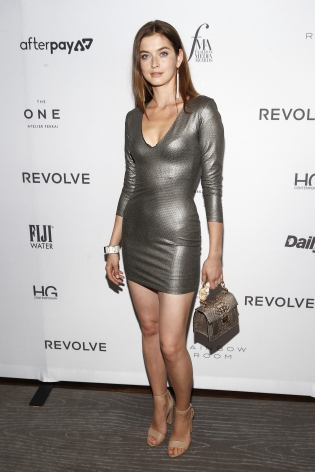 Anna Zaia at the Fashion Media Awards x Hg Contemporary during NYFW