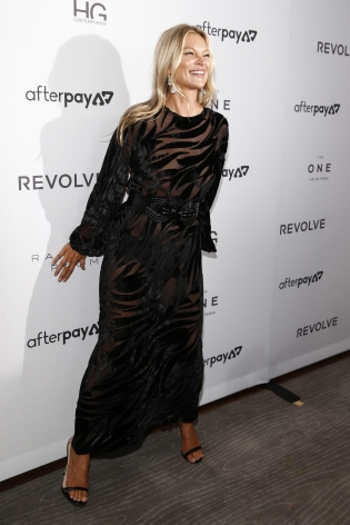 Kate Moss at the Fashion Media Awards x Hg Contemporary