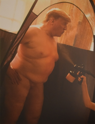 Trump Tanning by Alison Jackson at HG Contemporary founded by Philippe Hoerle-Guggenheim