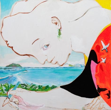 Al otro lado del arrecife by Carlos Franco at Hg Contemporary art gallery