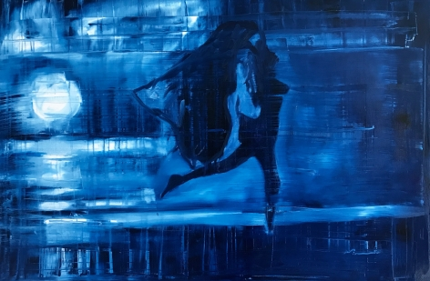 Lady Dancing in Moonlight Conor McCreedy at Hg Contemporary gallery, founded by Philippe Hoerle-Guggenheim
