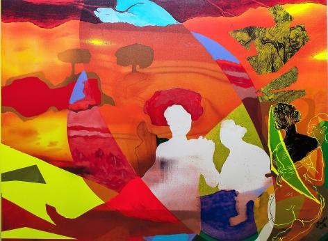 Dama en el lago by Carlos Franco at Hg Contemporary art gallery