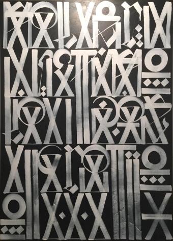Untitled White on Black