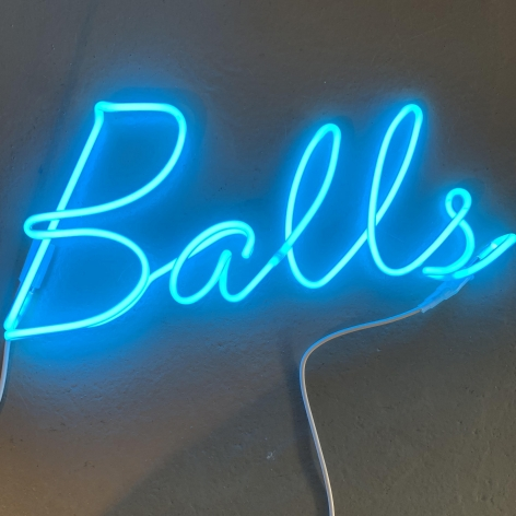 Balls Neon Sculpture from Limelight by Conor McCreedy