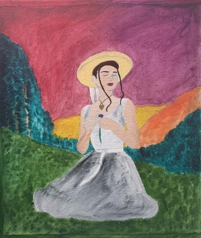 Nadia by Naj Amani at Hoerle-Guggenheim Gallery