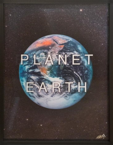 Planet Earth by Massimo Agostinelli at HG Contemporary founded by Philippe Hoerle-Guggenheim