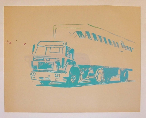 Warhol Truck by Andy Warhol at Hg Contemporary Art Gallery