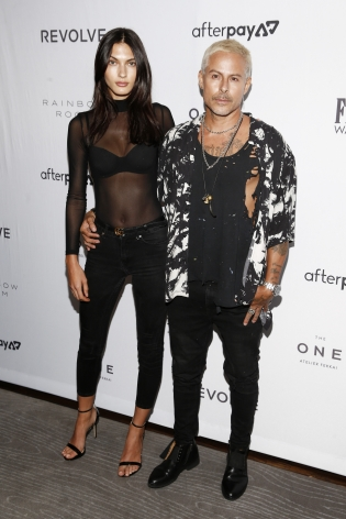 Louis Carreon and Kyla Shay at the Fashion Media Awards x Hg Contemporary