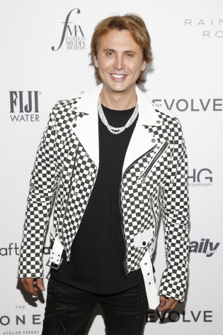 Jonathan Cheban at Hg Contemporary x Fma