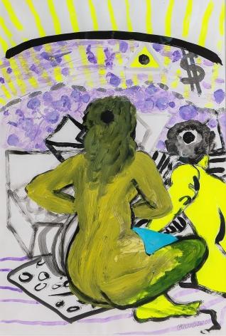 Dollar Days from Visto, no vista by Carlos Franco at Hg Contemporary