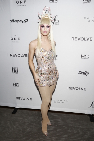 Aquaria at the Fashion Media Awards x Hg Contemporary