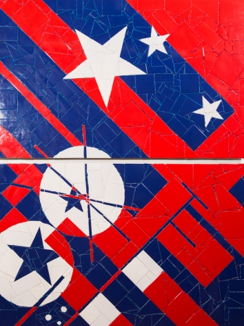 American Abstraction by Jason Dussault at HG Contemporary founded by Philippe Hoerle-Guggenheim