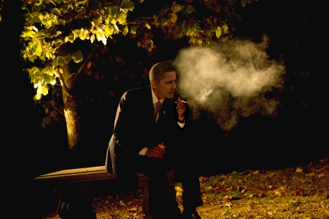 Obama Smoking by Alison Jackson at HG Contemporary founded by Philippe Hoerle-Guggenheim