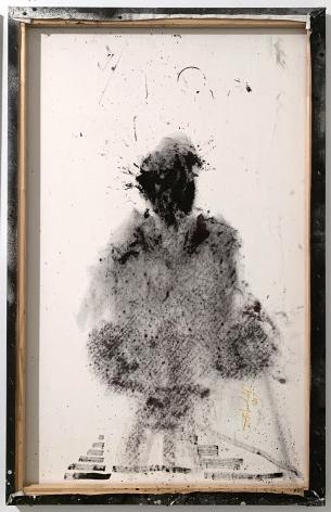Shadow Painting by Richard Hambleton at Hg Contemporary