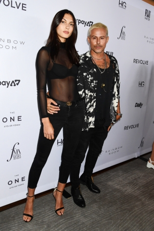 Louis Carreon and Kyla Shay, Hg Contemporary x Fashion Media Awards