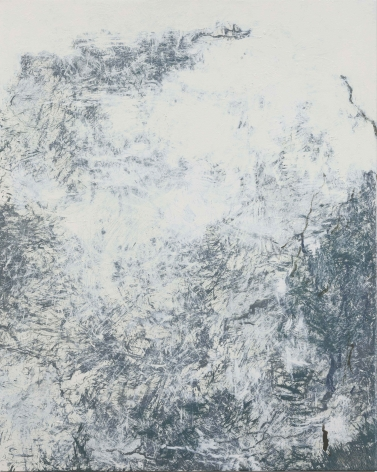 YOUN Myeung-Ro, Winter into Spring MXIV-1220, 2014, acrylic on linen, 162 x 130 cm / 63.78 x 51.18 in.