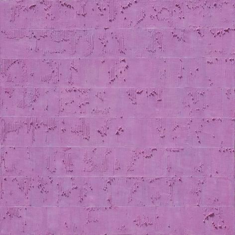 KIM Hyung Dae, HALO 12-202, 2012, acrylic on canvas, 100 x 100 cm / 39.37 x 39.37 in.