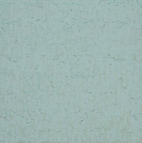KIM Hyung Dae, HALO 17-0330, 2017, acrylic on canvas, 145 x 145 cm / 57.09 x 57.09 in.