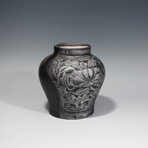 JU SEKYUN, Tracing Drawing 240, 2014 Pencil drawing on ceramics (varnish coating) 25 x 25 x 26 cm