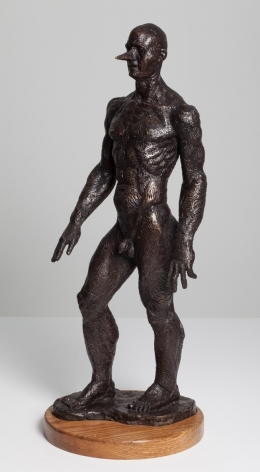 Small Neoclassical Pinocchio, 2014, bronze casting, 45 x 30 x 30 cm, Ed. /6