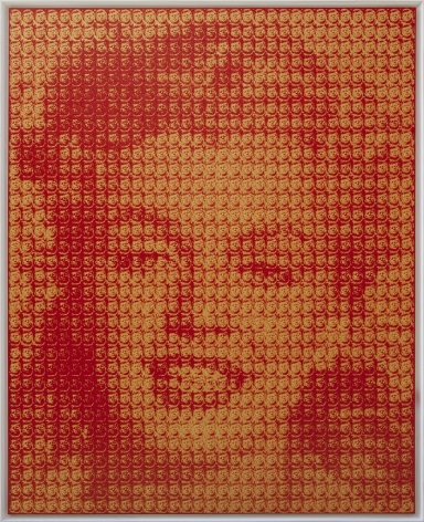 KIM DONG YOO, Marilyn Monroe (John F. Kennedy), 2016 Oil on canvas 162 x 130 cm
