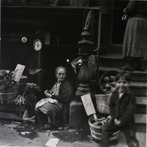 Jerome Liebling - Lower East Side, New York City