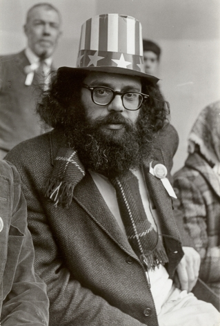 Fred W. McDarrah- Allen Ginsberg on Cenrtal Park Bandstand