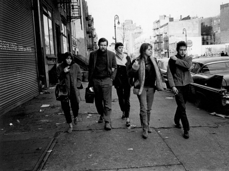 Jim Marshall- Bob Dylan Suze Rotolo and Dave Van Ronk