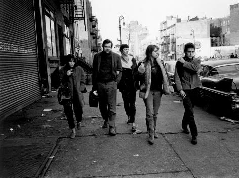 Jim Marshall- Bob Dylan, Suze Rotolo and Dave Van Ronk