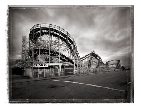 Christopher Thomas- Cyclone Roller Coaster, Coney Island
