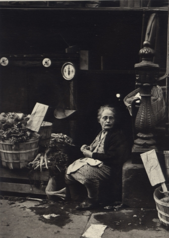 Jerome Liebling - Vegetable Woman