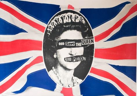 Jamie Reid- Sex Pistols