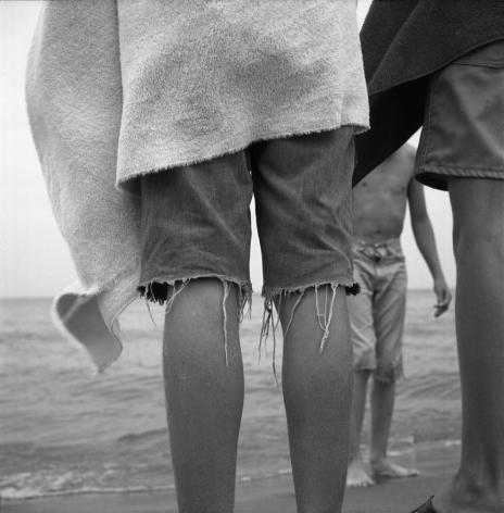 Vivian Maier- Untitled (Boys' Legs at Beach)